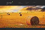 Agriculture Website  Template 37768