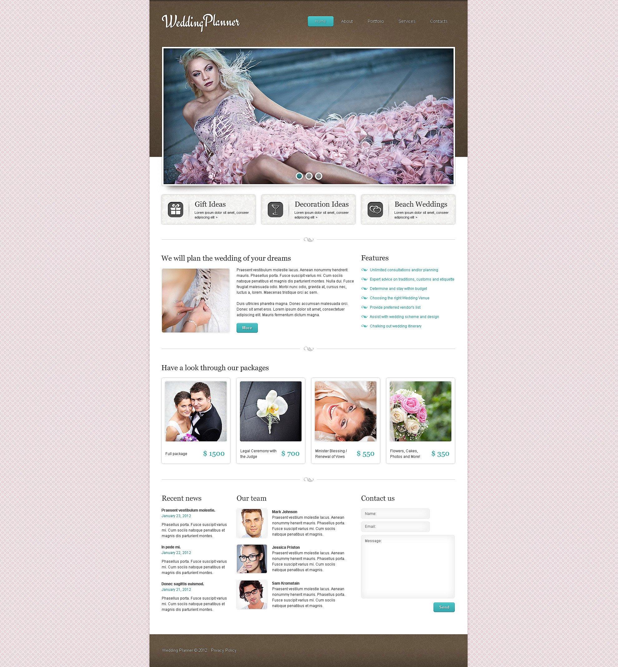 wedding planner website
