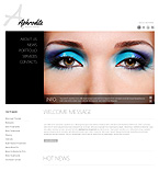 Beauty Joomla  Template 37806