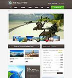 Travel Website  Template 37812