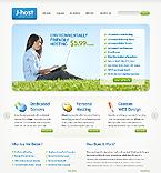 Web Hosting Website  Template 37813
