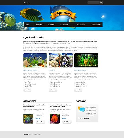 Template 37814 ( Accessories Page ) ADOBE Photoshop Screenshot