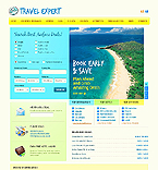 Travel Website  Template 37817