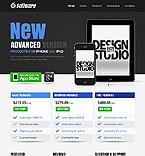 Software Website  Template 37825