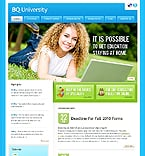Education Website  Template 37828
