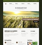 Agriculture Website  Template 37833