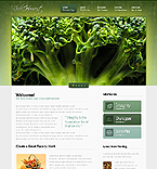 Agriculture Website  Template 37851