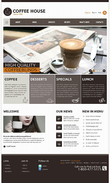Joomla Theme/Template 37857 Main Page Screenshot