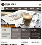 Cafe & Restaurant Joomla  Template 37857