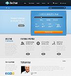Web Hosting Website  Template 37867