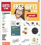 Gifts ZenCart  Template 37892