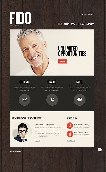Drupal Template 37900 Main Page Screenshot