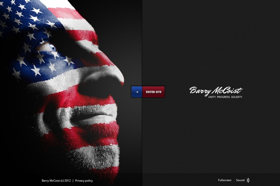 Political Candidate Flash Template 37905