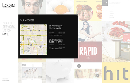 Template 37920 ( Mail Page ) ADOBE Photoshop Screenshot