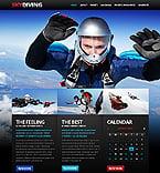Sport Website  Template 37924