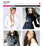 Fashion Website  Template 37925