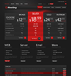 Web Hosting VirtueMart  Template 37941