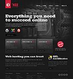 Web Hosting Website  Template 37955