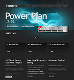 Web Hosting Website  Template 37960