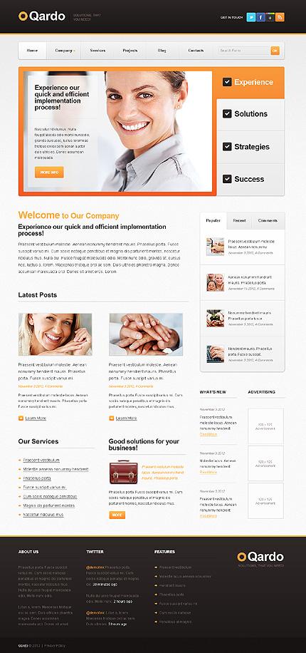 Drupal Template 37968 Main Page Screenshot