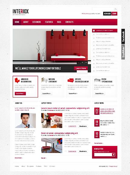 Drupal Template 37976 Main Page Screenshot