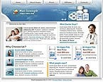 Website: Medical Low Budget Full Site Clean Style Most Popular