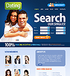 Dating Website  Template 38020