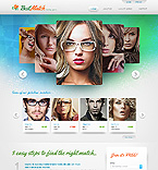 Dating Website  Template 38024
