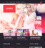 Fashion Website  Template 38026