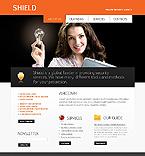 Security Website  Template 38029