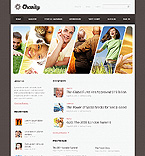 Charity Website  Template 38032