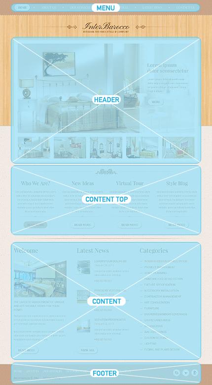 Drupal Template 38045 Main Page Screenshot