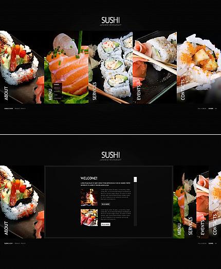 ADOBE Photoshop Template 38053 Home Page Screenshot