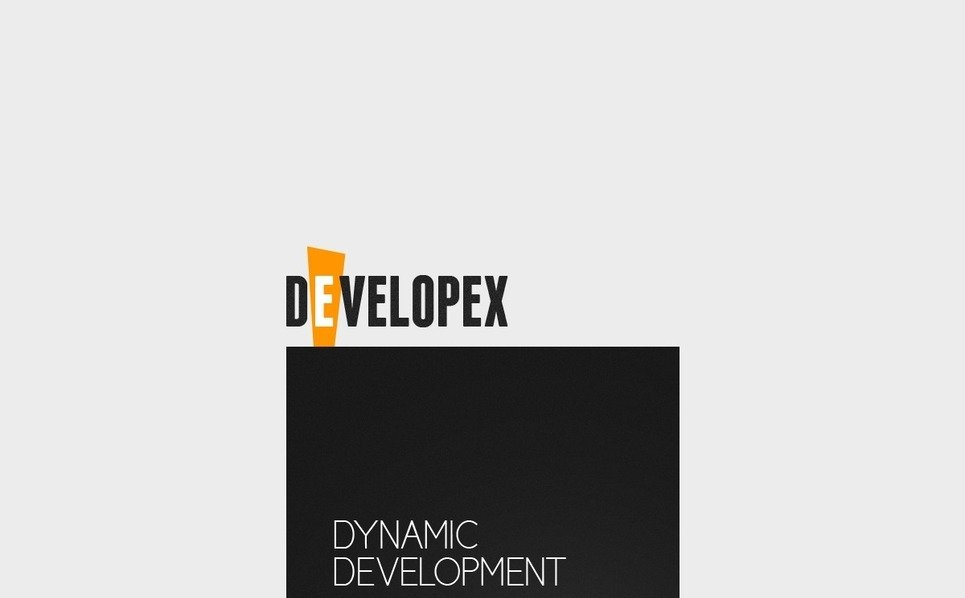 Plantilla Flash CMS #38054 para Sitio de Desarrollo web New Screenshots BIG
