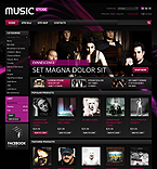 Music PrestaShop Template 38061