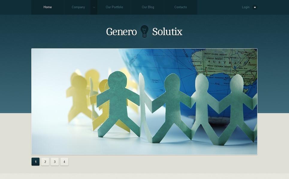 Thème Joomla  pour site d'affaires et de services New Screenshots BIG