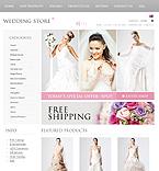 Wedding ZenCart  Template 38067