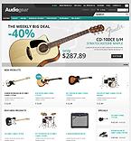 Music ZenCart  Template 38069