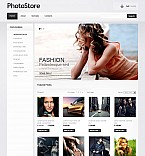 Art & Photography Photo Gallery  Template 38070