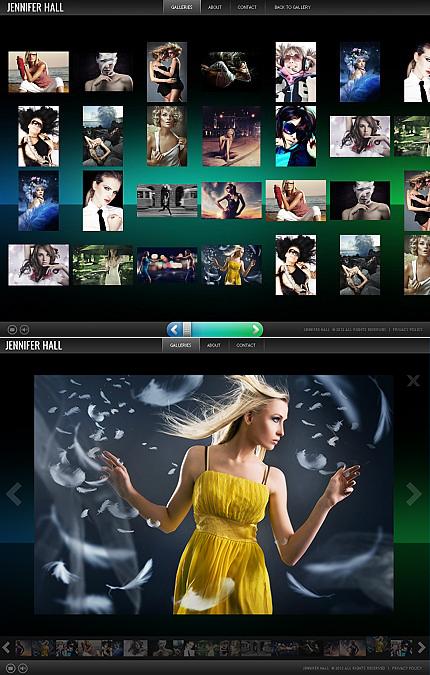 ADOBE Photoshop Template 38074 Home Page Screenshot
