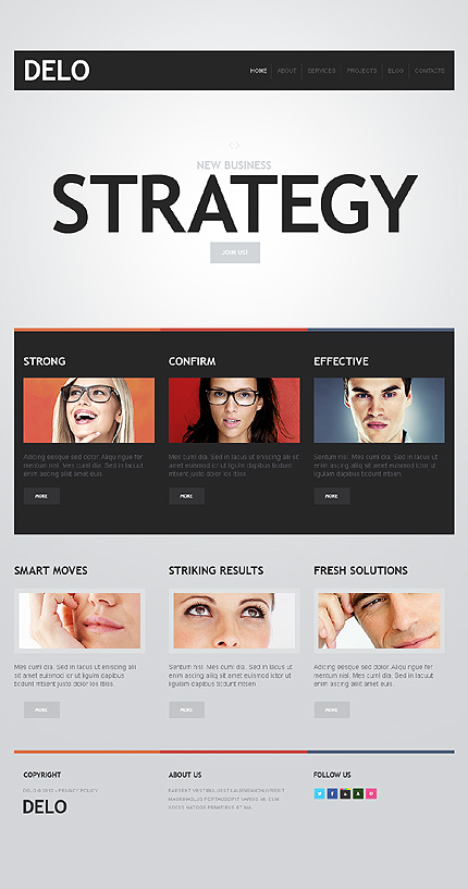 Drupal Template 38081 Main Page Screenshot