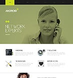 Communications Website  Template 38085