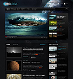 Science Website  Template 38086