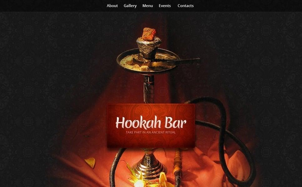 Шаблон сайту на тему кафе New Screenshots BIG
