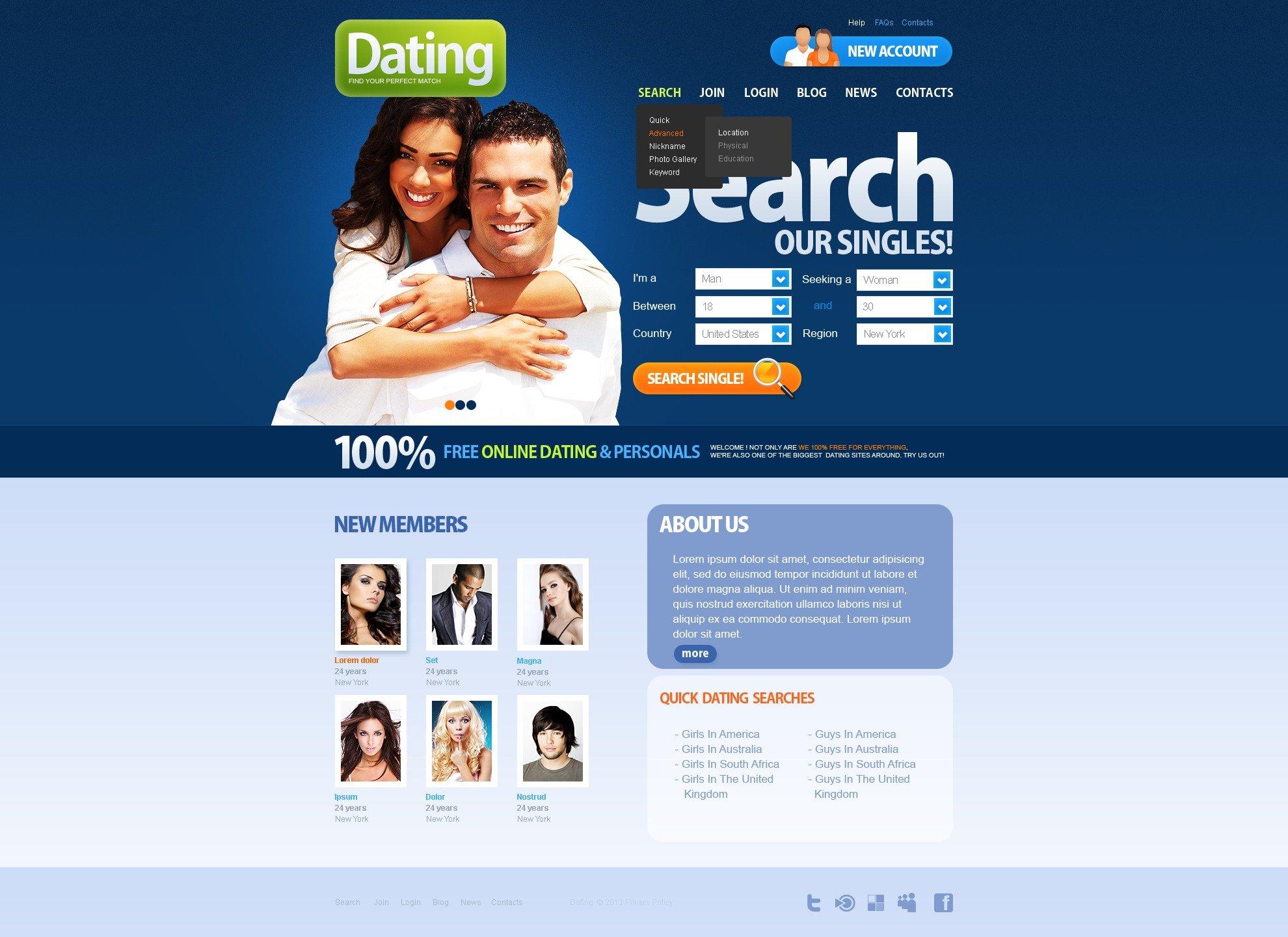Dating website elite