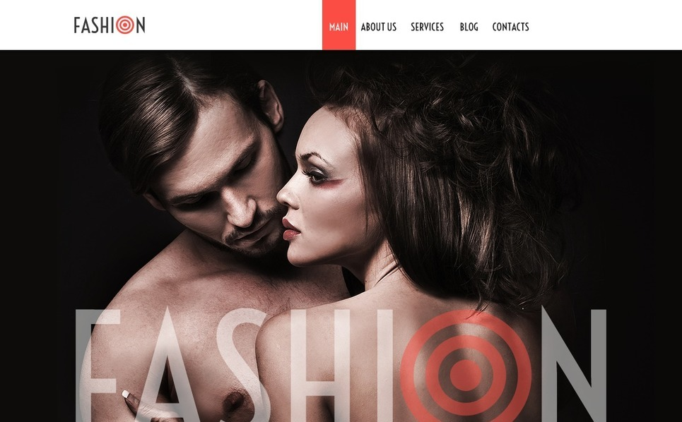 Szablon Joomla #38101 na temat: moda New Screenshots BIG