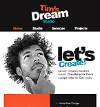 Web design Facebook  Template 38107