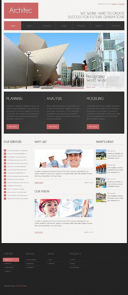 Joomla Theme/Template 38108 Main Page Screenshot