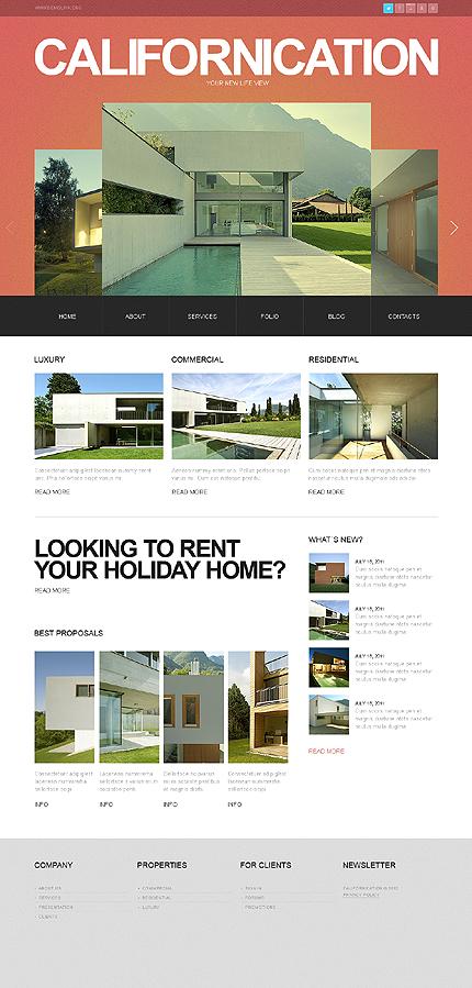 Drupal Template 38123 Main Page Screenshot