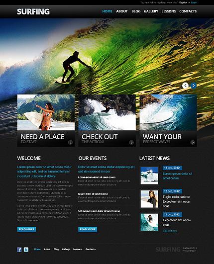 Drupal Template 38132 Main Page Screenshot